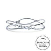 Diama_18K_White_Gold_Encounter_Swarovski_Created_Diamond_Bracelet