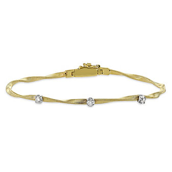 Marco Bicego 18K Yellow and White Gold Marrakech Diamond Bracelet