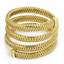 Roberto_Coin_18K_Yellow_Gold_Diamond_Primavera_Flexible_Bracelet