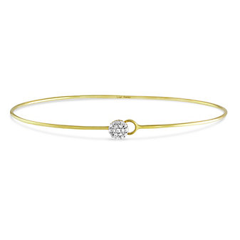 Phillips House 14K Yellow Gold Love Always Wire Infinity Bracelet