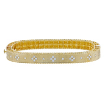 Roberto_Coin_18K_Yellow_Gold_Princess_Diamond_Bangle_Bracelet,_0.48cttw