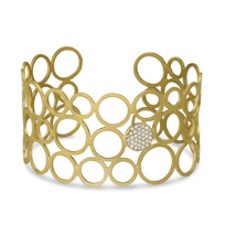 14K_Yellow_Gold_Open_Circle_Diamond_Cuff_Bracelet