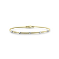 14K_Yellow_Gold_5_Station_Diamond_Flex_Bangle_Bracelet