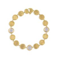 "marco_bicego_18k_yellow_gold_jaipur_diamond_station_bracelet,_7"""