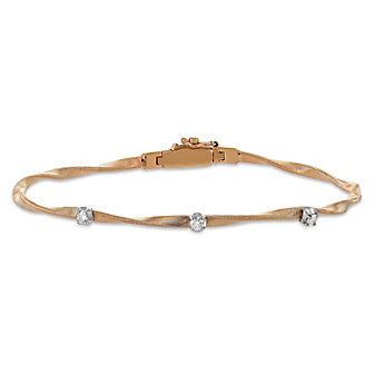 Marco Bicego 18K Rose Gold Marrakech Diamond Bracelet