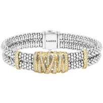 Lagos_18K_Yellow_Gold_and_Sterling_Silver_Embrace_Diamond_Caviar_Bracelet