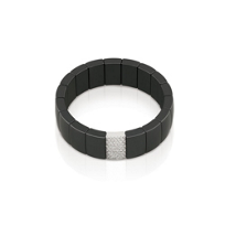 Roberto_Demeglio_Black_Ceramic_and_Diamond_Bracelet