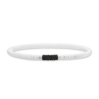 Roberto_Demeglio_MUSA_White_Ceramic_&_Black_Diamond_Bracelet