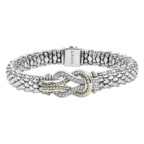 Lagos_Sterling_Silver_&_18K_Yellow_Gold_Diamond_Newport_Caviar_Knot_Bracelet