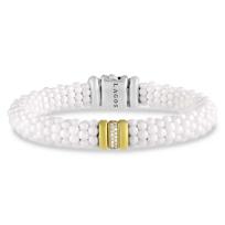 Lagos_Sterling_Silver_&_18K_White_Caviar_Diamond_Bracelet