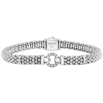 Lagos_Sterling_Silver_Caviar_Enso_Diamond_Circle_Bracelet
