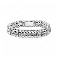 Lagos_Sterling_Silver_Caviar_Spark_Diamond_Station_Bracelet