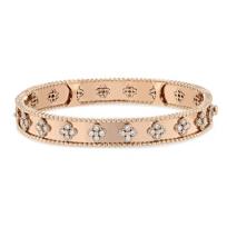 18k_rose_gold_diamond_floral_hinged_bangle_bracelet