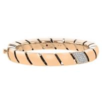 roberto_coin_18k_rose_gold_diamond_torchon_bangle_bracelet