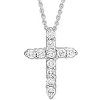 Roberto_Coin_18K_Diamond_Cross_Pendant,_0.45cttw