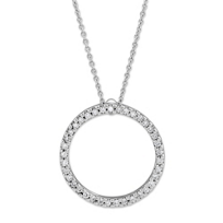 Roberto_Coin_18K_White_Gold_Diamond_Circle_of_Life_Pendant,_0.26cttw