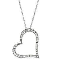 Roberto_Coin_18K_White_Gold_Diamond_Heart_Pendant,_0.22cttw