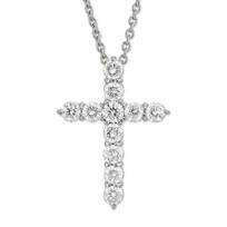 Roberto_Coin_18K_White_Gold_Diamond_Cross_Pendant,_1.44cttw