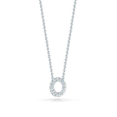 18K Diamond Love Letter Necklace