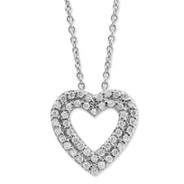 Roberto_Coin_18K_White_Gold_Diamond_Double_Heart_Pendant