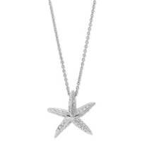 Roberto_Coin_18K_White_Gold_Diamond_Starfish_Pendant
