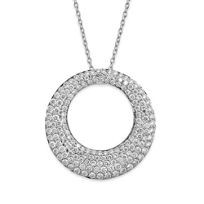 Roberto_Coin_18K_White_Gold_Diamond_Scalare_Pendant,_0.88cttw