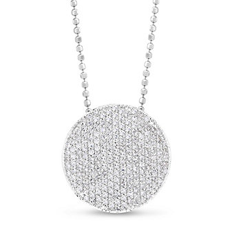 Phillips House 14K White Gold Affair Large Diamond Circle Pendant