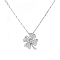 14K_White_Gold_Clover_Diamond_Pendant,_0.20cttw