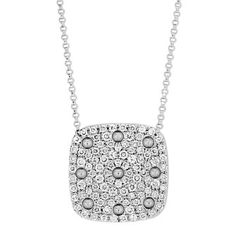 Roberto Coin 18K White Gold Pois Moi Diamond Pendant