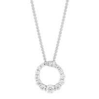 14K_White_Gold_Round_Diamond_Open_Circle_Pendant