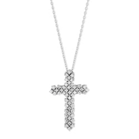 18K_White_Gold_Diamond_Cross_Pendant,_1.31cttw