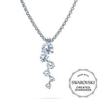 Diama_18K_White_Gold_Signature_Swarovski_Created_Diamond_Cluster_Pendant