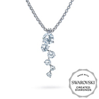 Diama_18K_White_Gold_Signature_Swarovski_Created_Diamond_Necklace,_Small