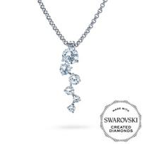Diama_18K_White_Gold_Signature_Swarovski_Created_Diamond_Necklace,_Small