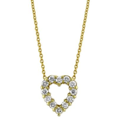 Roberto_Coin_18K_Yellow_Gold_Diamond_Heart_Pendant