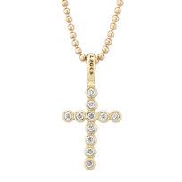 Lagos_18K_Yellow_Gold_and_Diamond_Covet_Cross_Pendant_Necklace