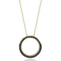 Phillips_House_14K_Yellow_Gold_Black_Round_Diamond_Revolution_Pendant