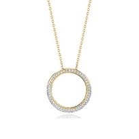 "phillips_house_14k_yellow_gold_diamond_revolution_ring_pendant,_18"""