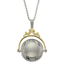 14K_Yellow_Gold_and_Sterling_Silver_Diamond_Spinner_Locket