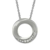 Sterling_Silver_Diamond_Circle_Twist_Pendant