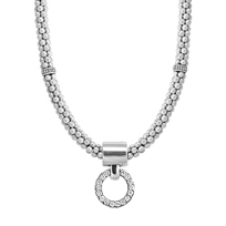 Lagos_Sterling_Silver_Enso_Diamond_Beaded_Circle_Necklace