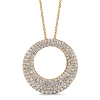 Roberto_Coin_18K_Rose_Gold_Diamond_Scalare_Pendant,_0.88cttw