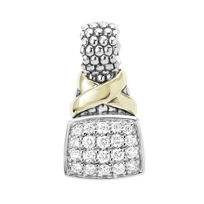 Lagos_Sterling_Silver_&_18K_Yellow_Gold_Diamond_Lux_X_Pendant