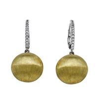 18K_Yellow_&_White_Gold_Diamond_Ball_Drop_Earrings