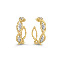 Roberto_Coin_18K_Yellow_&_White_Gold_Diamond_Barocco_Hoop_Earrings