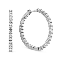 Roberto_Coin_18K_White_Gold_Diamond_Hoop_Earrings,_1.25""