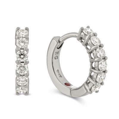Roberto_Coin_18K_White_Gold_Diamond_Huggy_Earrings,_0.70cttw