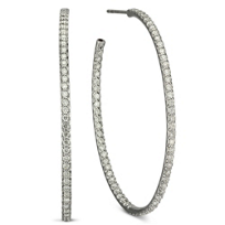 Roberto_Coin_18K_White_Gold_Large_Oval_Diamond_Hoop_Earrings