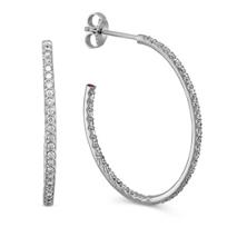 Roberto_Coin_18K_White_Gold_Diamond_Oval_Hoop_Earrings