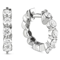 14K_White_Gold_Round_Diamond_Hoop_Earrings